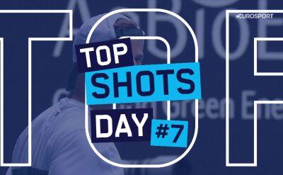 Najlepsze zagrania 7. dnia Australian Open