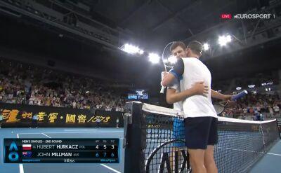 Hurkacz przegrał z Millmanem w 2. rundzie Australian Open