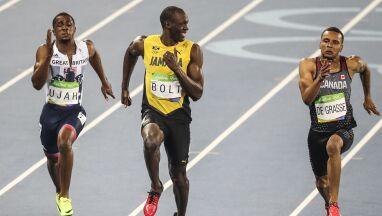 Od Pekinu do Rio. Wszystkie olimpijskie popisy Bolta w dziewięć minut