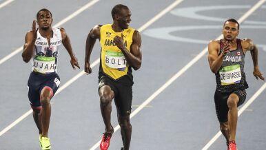 Wszystkie olimpijskie popisy mistrza w dziewięć minut