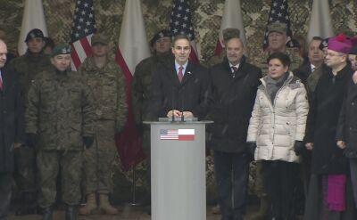 Ambasador USA: będziemy zawsze wspólnie z Polską bronić wolności