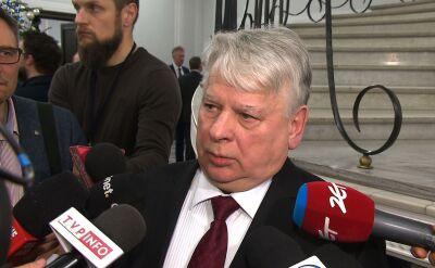 Borusewicz: to, co się działo w Sejmie, było tylko kamuflażem