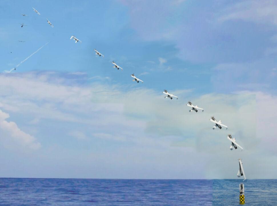 Amerykanie wystrzelili pierwszego drona z okrętu podwodnego