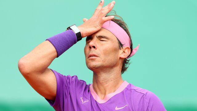 Nie będzie 12. tytułu. Nadal sensacyjnie pokonany w Monte Carlo