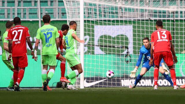 Bayern wykorzystał potknięcie wicelidera. 18-latek bohaterem