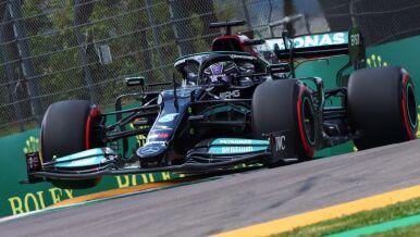 Ścisk w kwalifikacjach. Hamilton po raz 99.