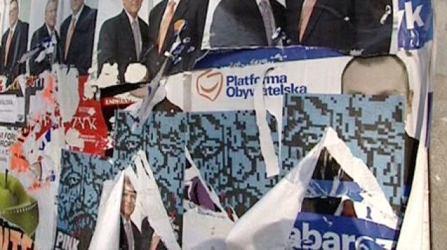 Posprzątali  po wyborach za partie. Najwyższy rachunek PiS