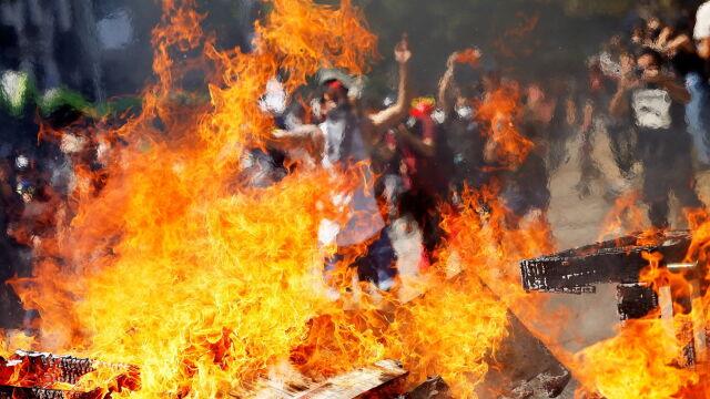 Kolejne protesty w Chile. Prezydent zapowiedział spotkanie z opozycją