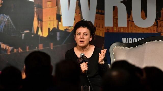 Olga Tokarczuk zakłada fundację i zapowiada książkę, która