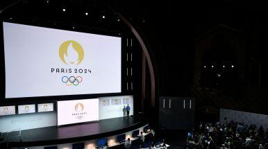 Zaprezentowano logotyp igrzysk olimpijskich w Paryżu.
