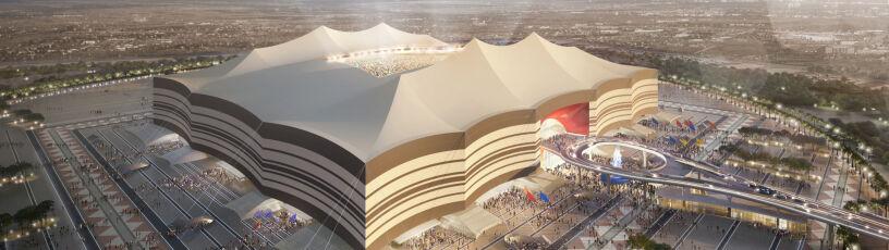 """Stadion jak beduiński namiot. """"Arcydzieło"""" na mundial w Katarze prawie gotowe"""