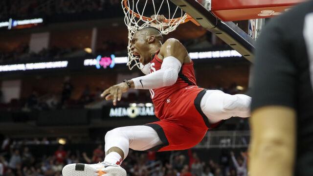 Westbrook wyprzedził Magica. Wyjątkowy wyczyn gwiazdy Rakiet