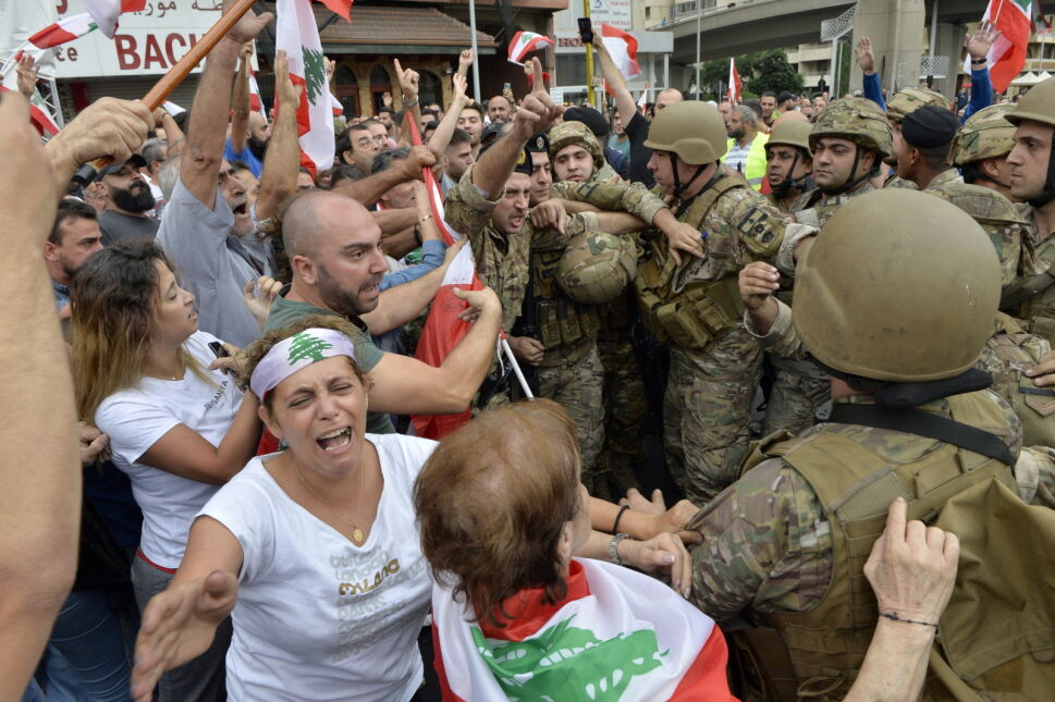 Kolejny dzień protestów w Libanie