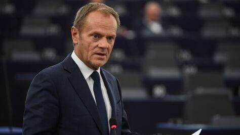 Donald Tusk zarekomenduje przedłużenie terminu brexitu