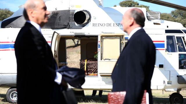 Ekshumacja szczątków generała Franco. Trumna  w helikopterze i nowe miejsce pochówku