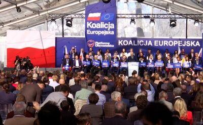 Zgrzyt w Platformie Obywatelskiej po publikacji list Koalicji Europejskiej