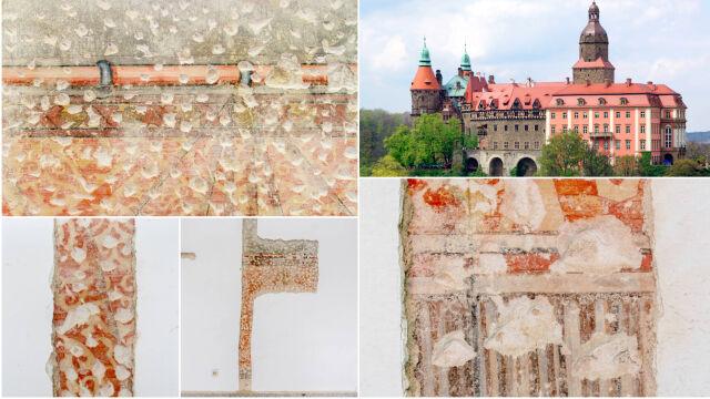 Na Zamku Książ szykowali się do remontu, odkryli renesansowe malowidła