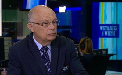 Borowski: To rząd zdrady narodowej. Faktycznie wyprowadza nas z Unii
