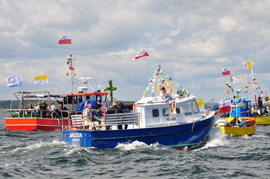 Tradycyjne kaszubskie łodzie tez przypłyną do Sopotu
