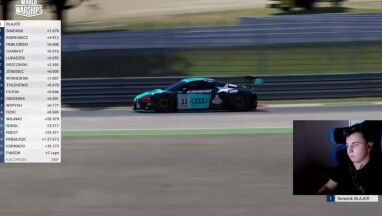 Blajer nie do pokonania. Polak blisko triumfu w Audi Eurosport eRacing