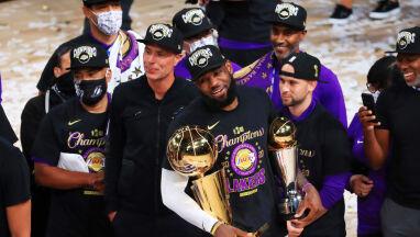 Po porażce Trumpa mistrzowie NBA znowu odwiedzą Biały Dom