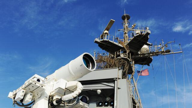 Amerykanie chwalą się laserem bojowym. Sterowanie jak konsolą do gier