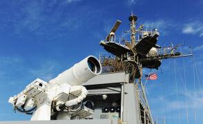 Testy lasera bojowego US Navy