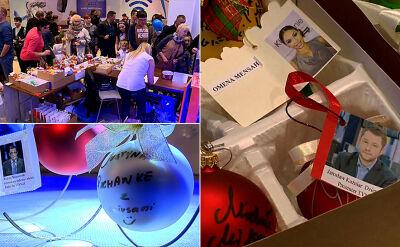 Aukcja bombek z podpisami gwiazd TVN24 dla niepełnosprawnych dzieci