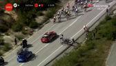 Kraksa w peletonie na 3. etapie Vuelta a Espana
