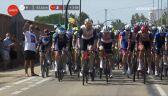 Niebezpieczne zachowanie kibica podczas 6. etapu Vuelta a Espana