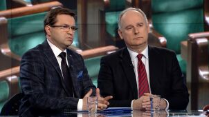 Paweł Zalewski i Zbigniew Girzyński w