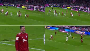 Rzut karny i Lewandowski tylko się skrzywił. Gola strzelił dopiero z akcji