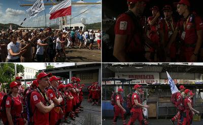 Pierwszy dzień służby ratowników na ŚDM