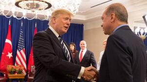 Trump rozmawiał z Erdoganem o sytuacji w Syrii