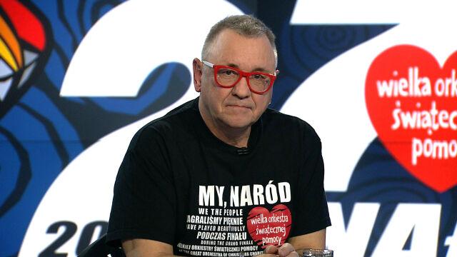 Jerzy Owsiak o walce z mową nienawiści