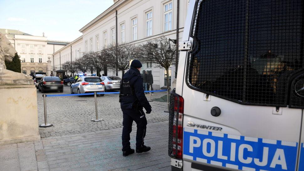 Prezydent Duda o incydencie przed Pałacem