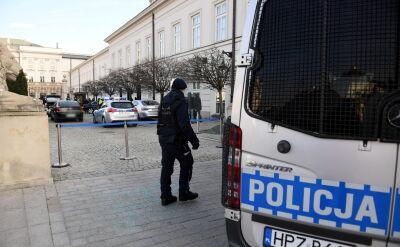 Incydent przed Pałacem Prezydenckim