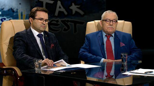 Ireneusz Krzemiński i Zbigniew Girzyński w Tak Jest