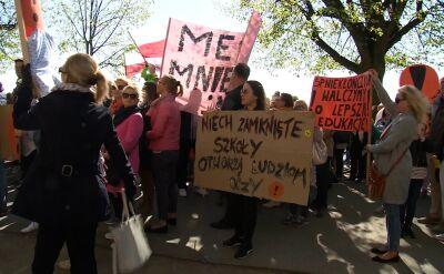 Szczecin: manifestacja poparcia dla strajku