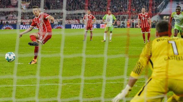 Lewandowski królem jedenastego metra. Ronaldo i Messi daleko z tyłu