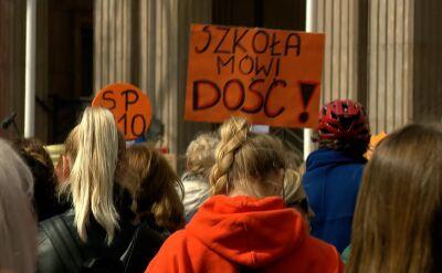 """""""Manifestacja dla szkoły"""" w Warszawie"""