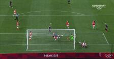 Piłka nożna kobiet. Wielka Brytania – Chile 1:0 (gol Ellen White)