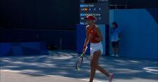 Tokio. Badosa awansowała do 2. rundy turnieju tenisowego kobiet