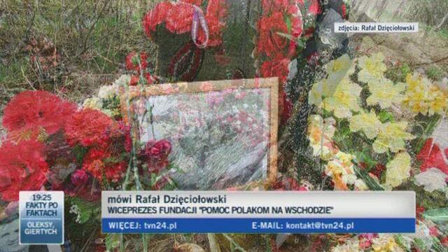 Rafał Dzięciołowski o sytuacji na miejscu katastrofy (TVN24)