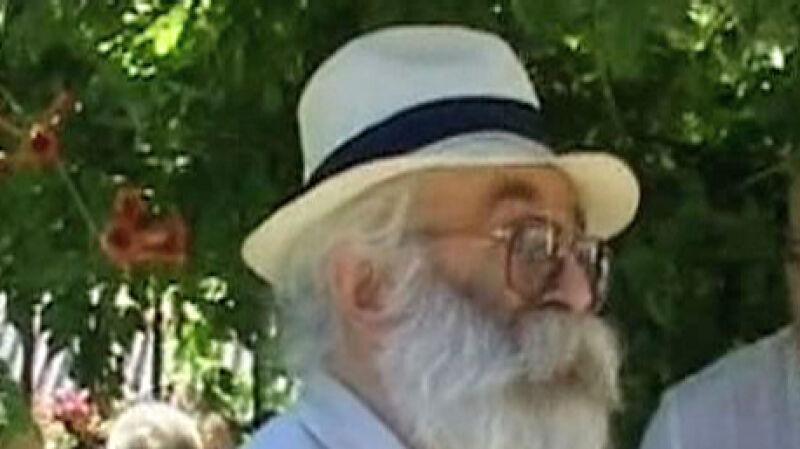 Radovan Karadżić jako dr Dabić w Belgradzie w czerwcu 2008 roku, miesiąc przed schwytaniem