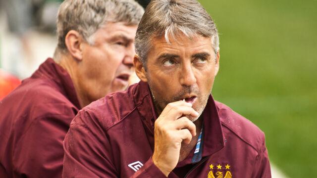 Mancini: Lepiej wyjść z kobietą, niż pić