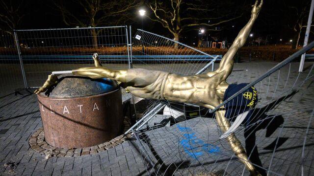 """Włosi chcą wykupić pomnik Zlatana. Zapłacą """"każdą sumę"""""""