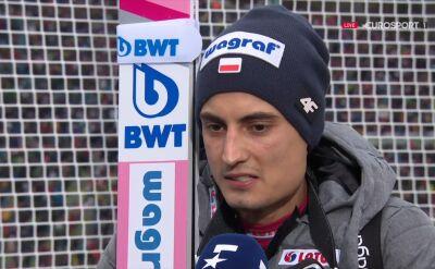 Maciej Kot po konkursie w Innsbrucku