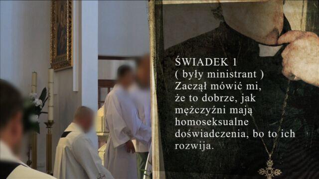 Ksiądz do wczoraj był proboszczem w jednej z parafii