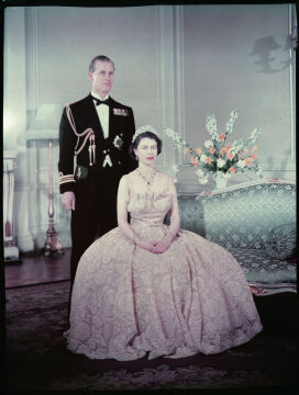 Para królewska w 1950 roku